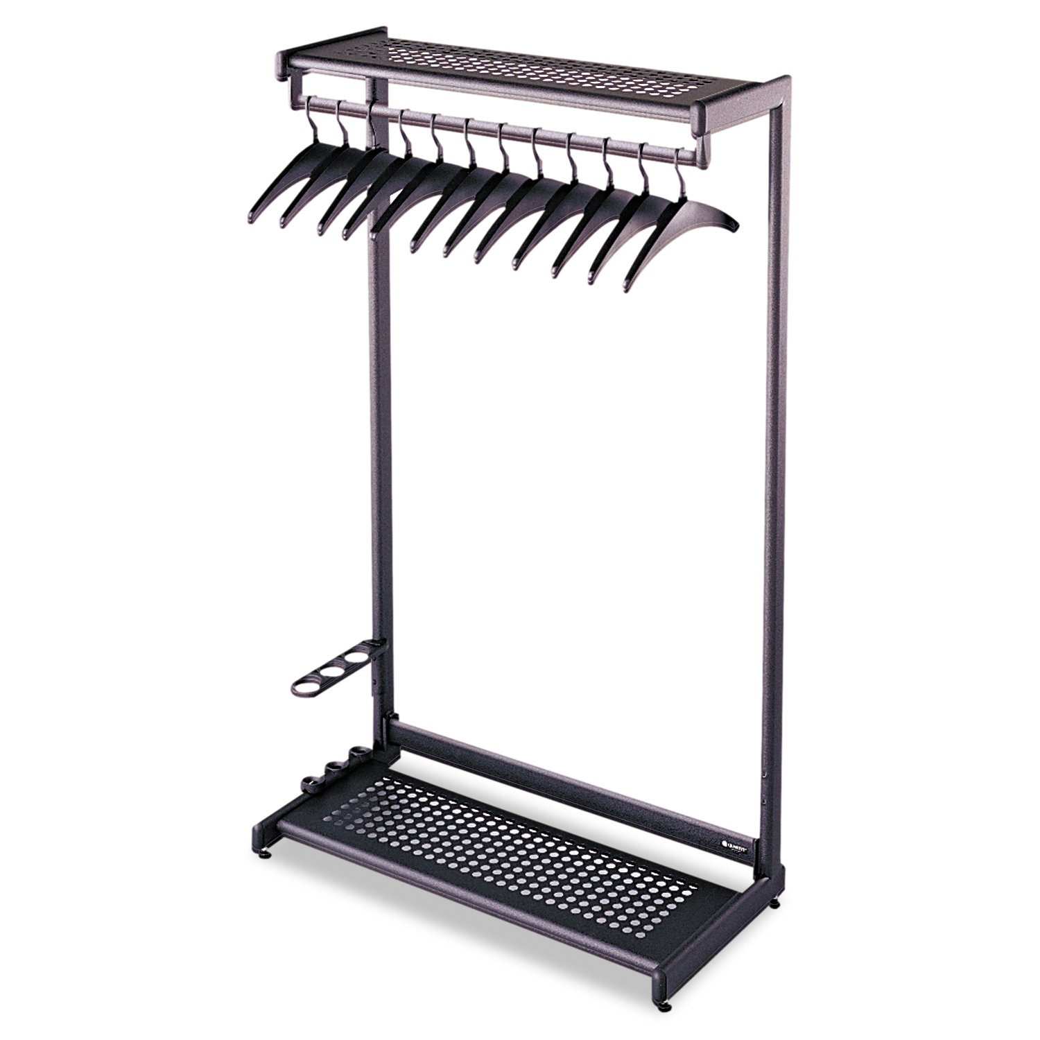 Amazon Quartet Double Sided Garment Rack Freestanding 48 Inch Black 20314 Office Products