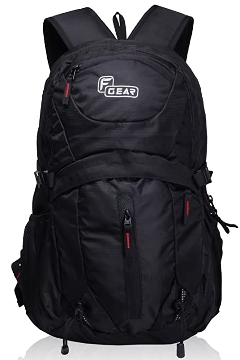 9caeed4a1639 F Gear Ops 29 Ltrs Black Casual Backpack (2375)  Amazon.in  Bags ...