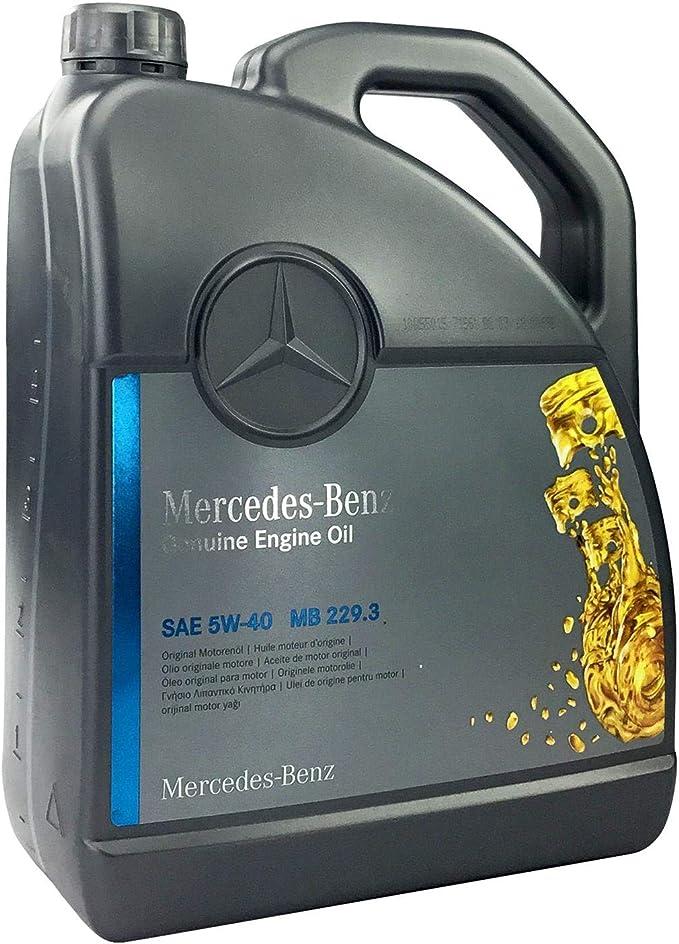 Mercedes Benz Original Engine Oil 5w 40 Mb 229 3 5 Litres Auto