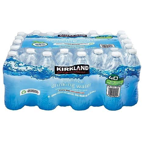Kirkland Signature Purified Drinking Water, 16 9 Ounce