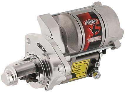 Powermaster Performance 9523 XS Torque Starter Mounting Block w/Nose Cone  200 ft./