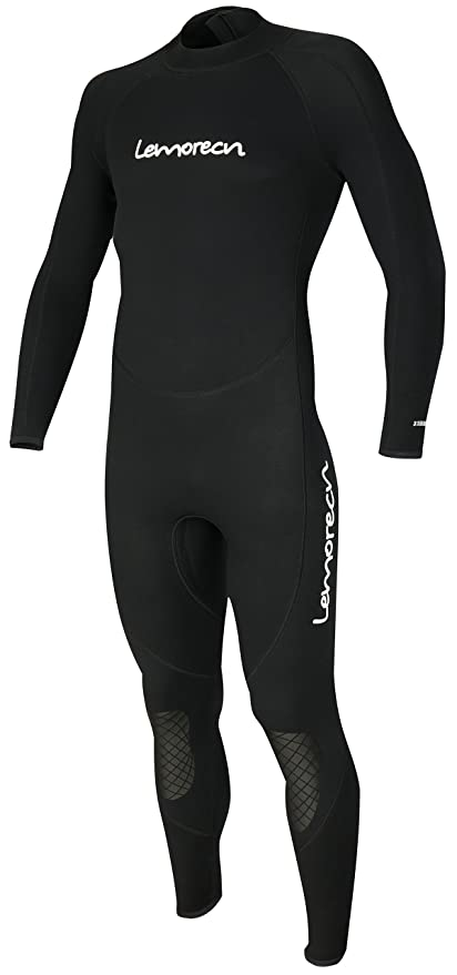 Lemorecn Mens Wetsuits Jumpsuit Neoprene 3 2mm Full Body Diving Suit  (3031blackS) fe546b31f