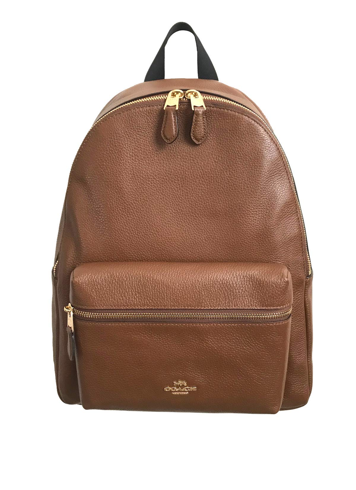 b8d81bff8a Galleon - Coach Charlie Pebble Leather Backpack F38288 (Saddle)