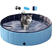 Deals on Yaheetech Extra Large Dog Pet Bath Swimming Pool