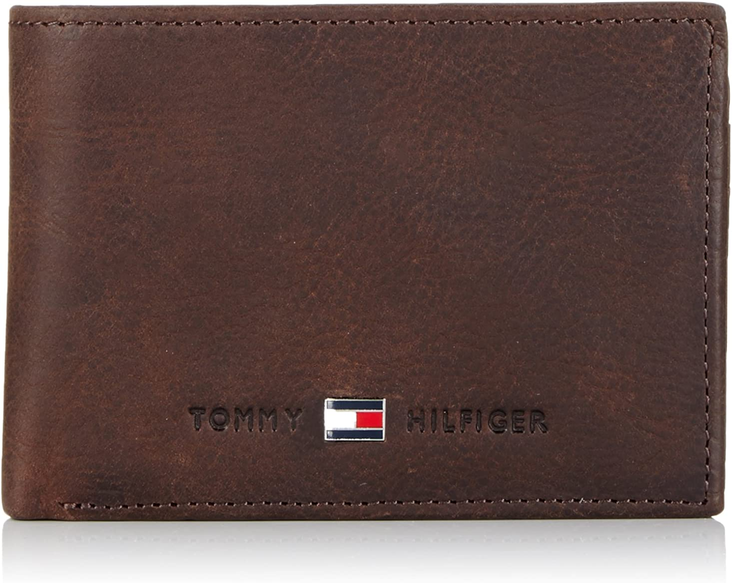 Tommy Hilfiger Johnson Mini CC Flap & Coin Pocket - Cartera para Hombre, Color