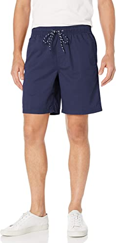 Essentials Mens Stripe Drawstring Walk Short