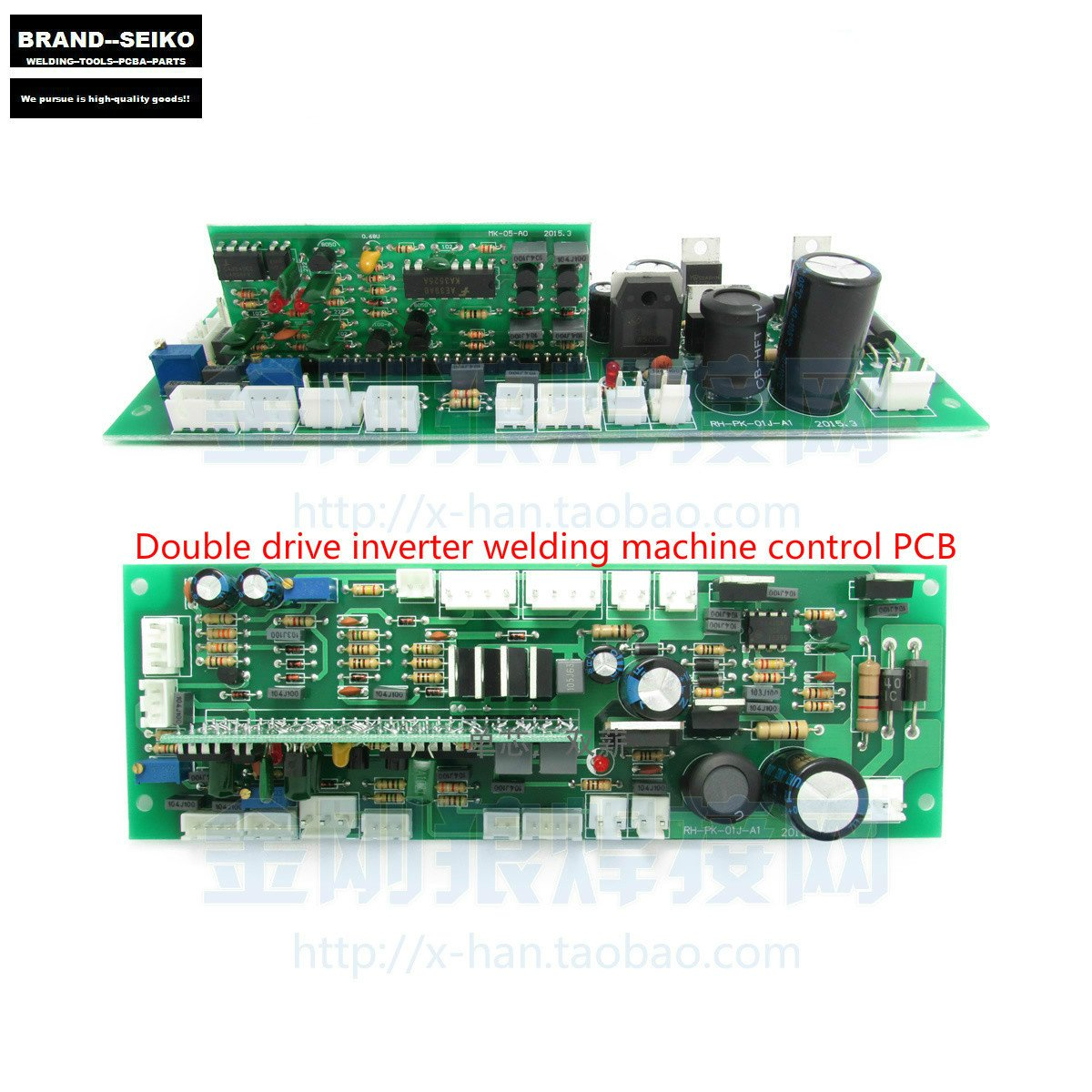 Generic Single Drive 380 V Three Phase Inverter Welding Machine Spot Welder Controller Board Pcb Without Components Circuit General Strip Plate Panel Industrial Scientific