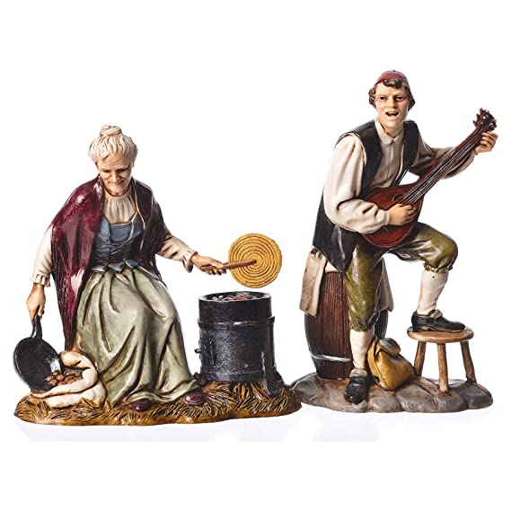f6c5e137562 Holyart Figuras 4 Profesiones belén Moranduzzo 12 cm  Amazon.es  Hogar
