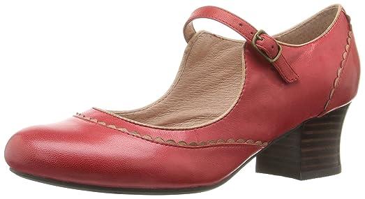 Miz Mooz Women's Fortune Dress Pump, Red, ...