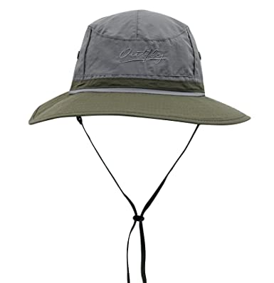 Connectyle Outdoor Boonie Fishing Bucket Hat Summer Colorblock Sun Hats UV  Protection Hiking Hunting Cap  Amazon.in  Clothing   Accessories cd200286ecaf
