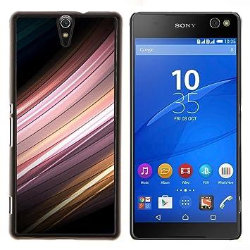 For Sony Xperia C5 Ultra Case , Sensor de movimiento- Diseño Patrón Teléfono Caso Cubierta