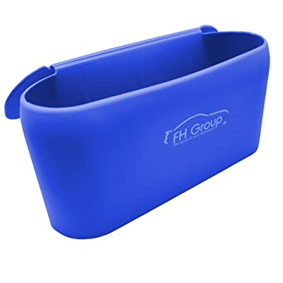 FH Group FH3023BLUE Silicone Waterproof Durable Portable Small Waste Trash Garbage bin can for car: Automotive