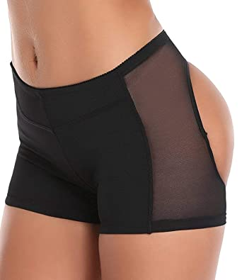 d6bb8609ef Ganovo Butt Lifter Shaperwear Tummy Control Seamless Panty Invisible  Boyshorts Body Shaper (B