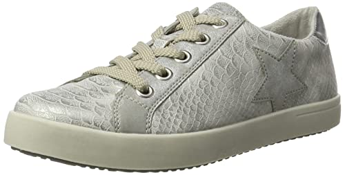 Rieker Kinder K5203, Sneakers Basses Fille, Argent (Ice