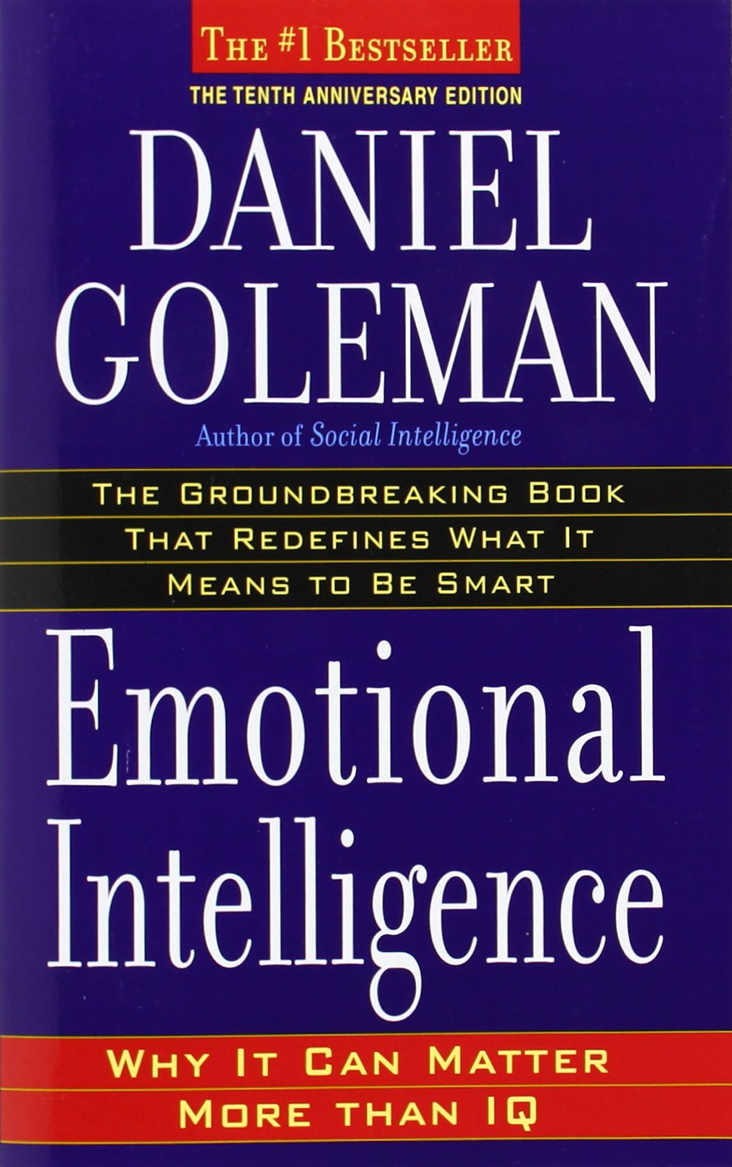 emotional intelligence why it can matter more than iq daniel emotional intelligence why it can matter more than iq daniel goleman 9780553383713 amazon com books