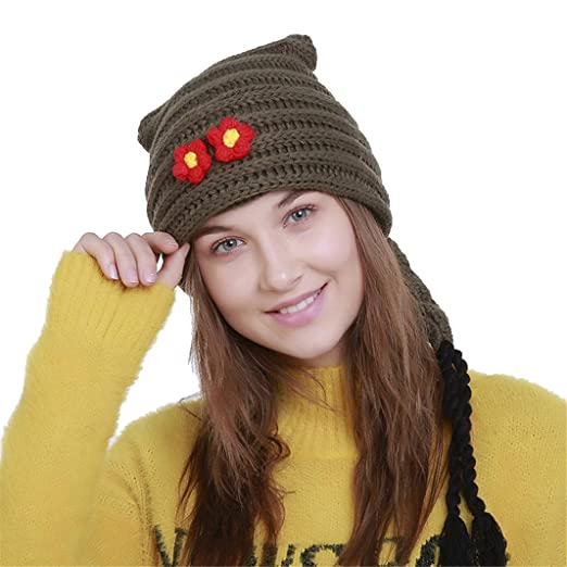 a34a918006a Amazon.com  Hmlai Winter Hat For Women
