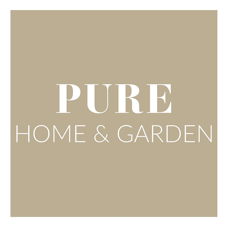 Pure Home /& Garden Kurbelschirm 300x200 Natur mit UV-Schutz 40 Plus Knicker und abnehmbarem Bezug