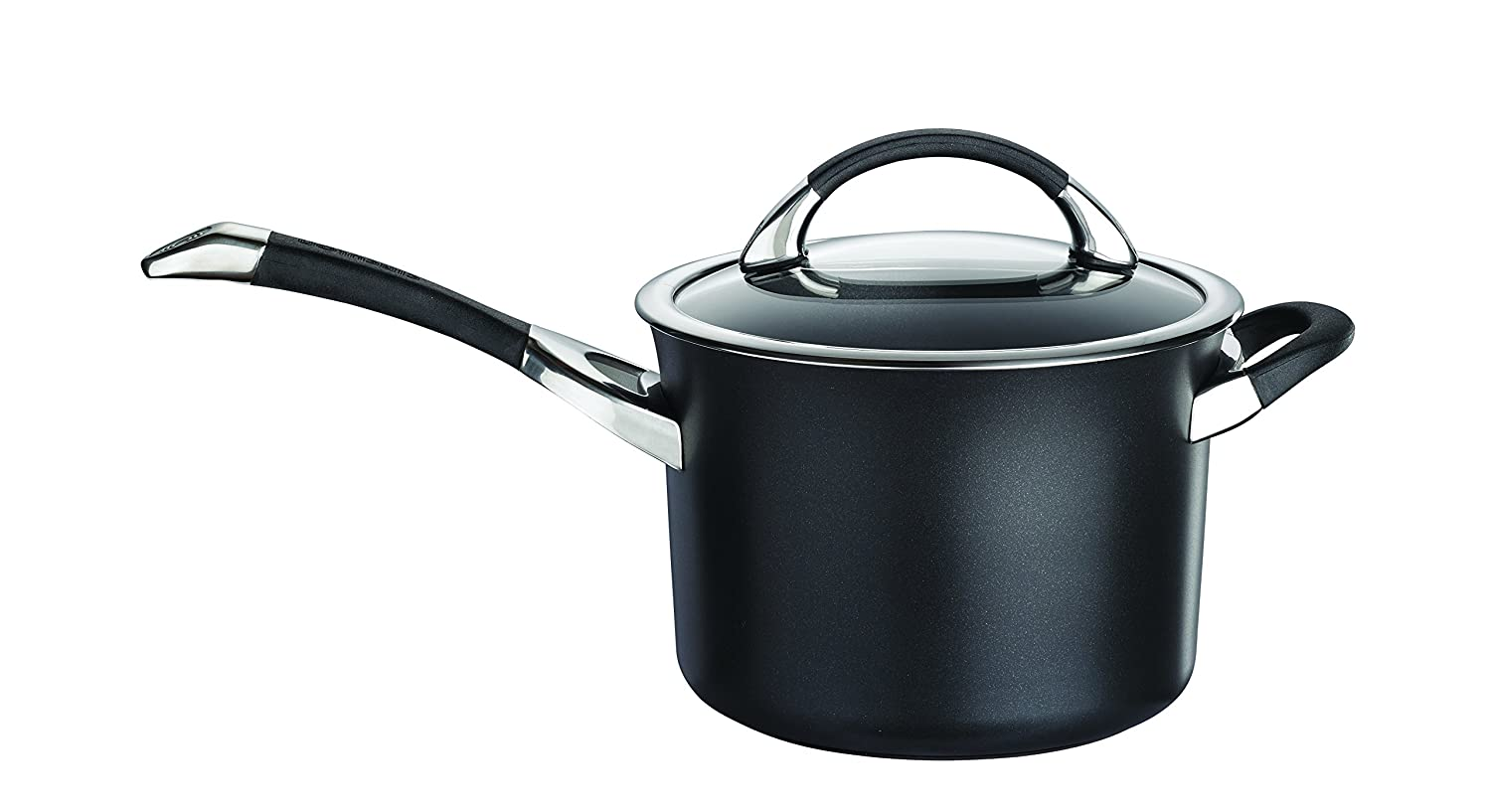 Circulon Symmetry Hard Anodised 20cm Saucepan with Helper handle 3.8L - Black Meyer Group Ltd 80037