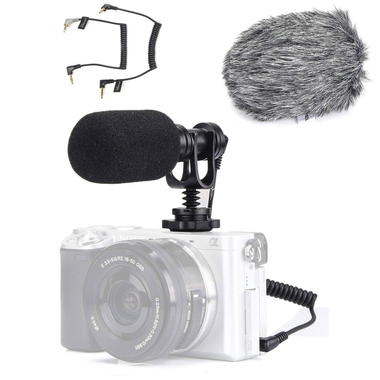 microfono para Canon, Nikon, Sony A6300