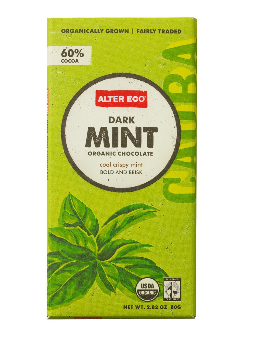 Amazon.com : Alter Eco - Dark Mint Organic Chocolate - 2.82 oz ...