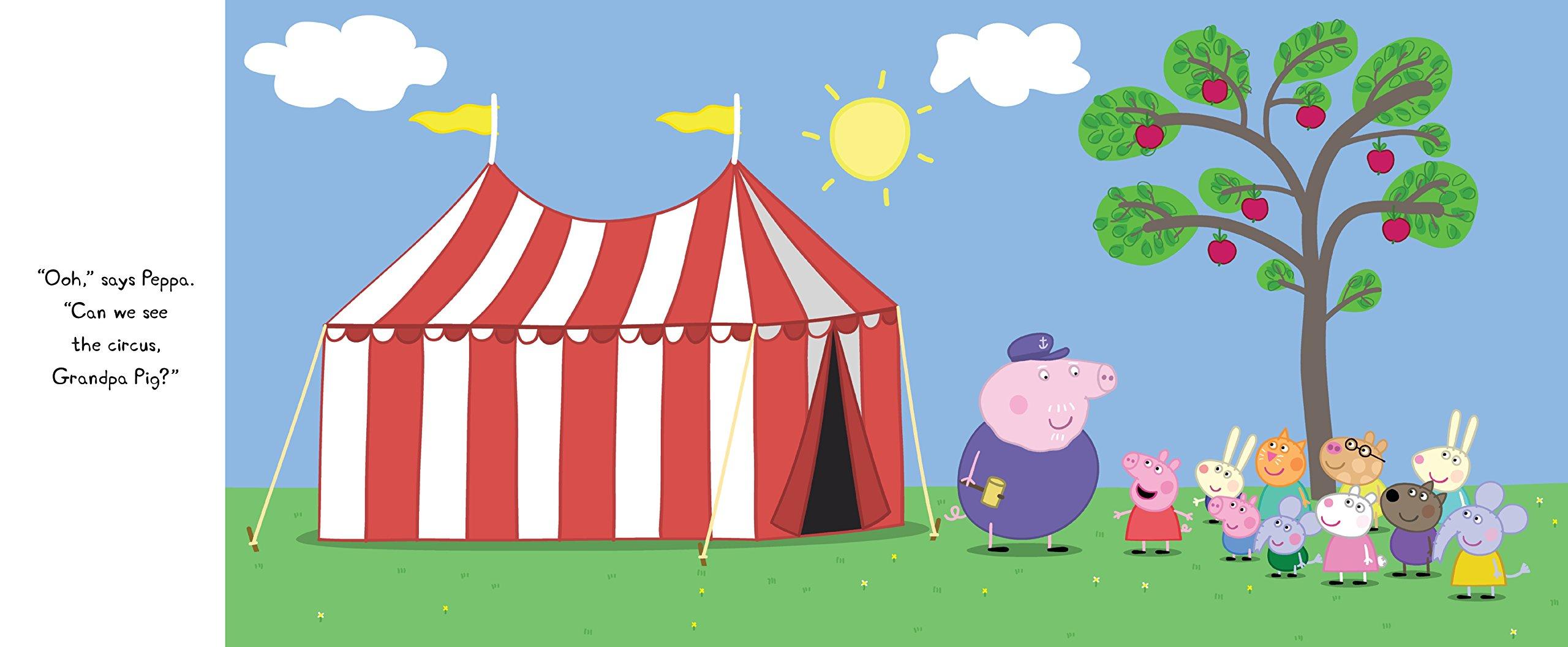 peppa pig and the backyard circus candlewick press 9780763694371