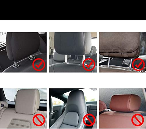 OSJDFD Autositz Kopfst/ütze verstellbar Kind Erwachsene Schlaf Seite Kopfkissen St/ützkissen Universal Schwarz