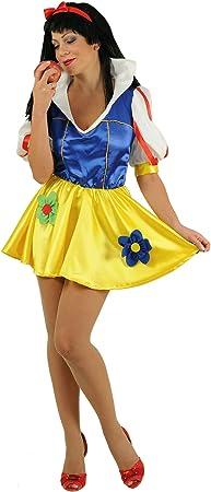 Stamco Disfraz Blancanieves Falda Corta: Amazon.es: Juguetes y ...