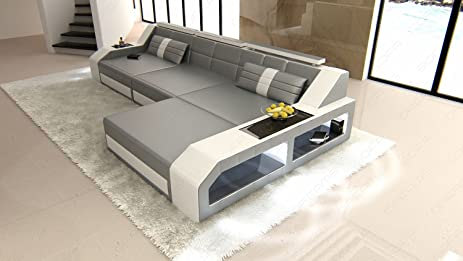 Modern Sectional Sofa AREZZO LED L  Form