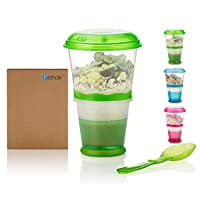 Cereal-To-Go Cups Breakfast Portable Yogurt Container