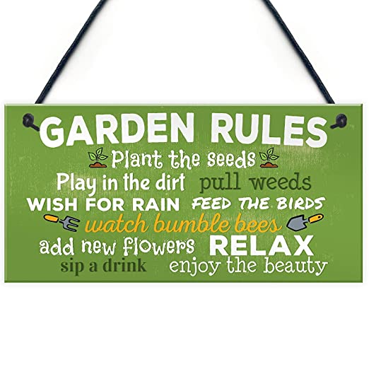 Kue Herp Garden Rules RelaNoveltyummerHouse Gardenhed ...