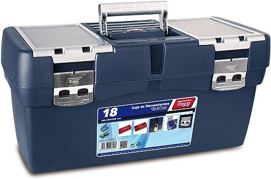 Tayg Caja herramientas plástico n. 18, 580 x 290 x 290 mm ...