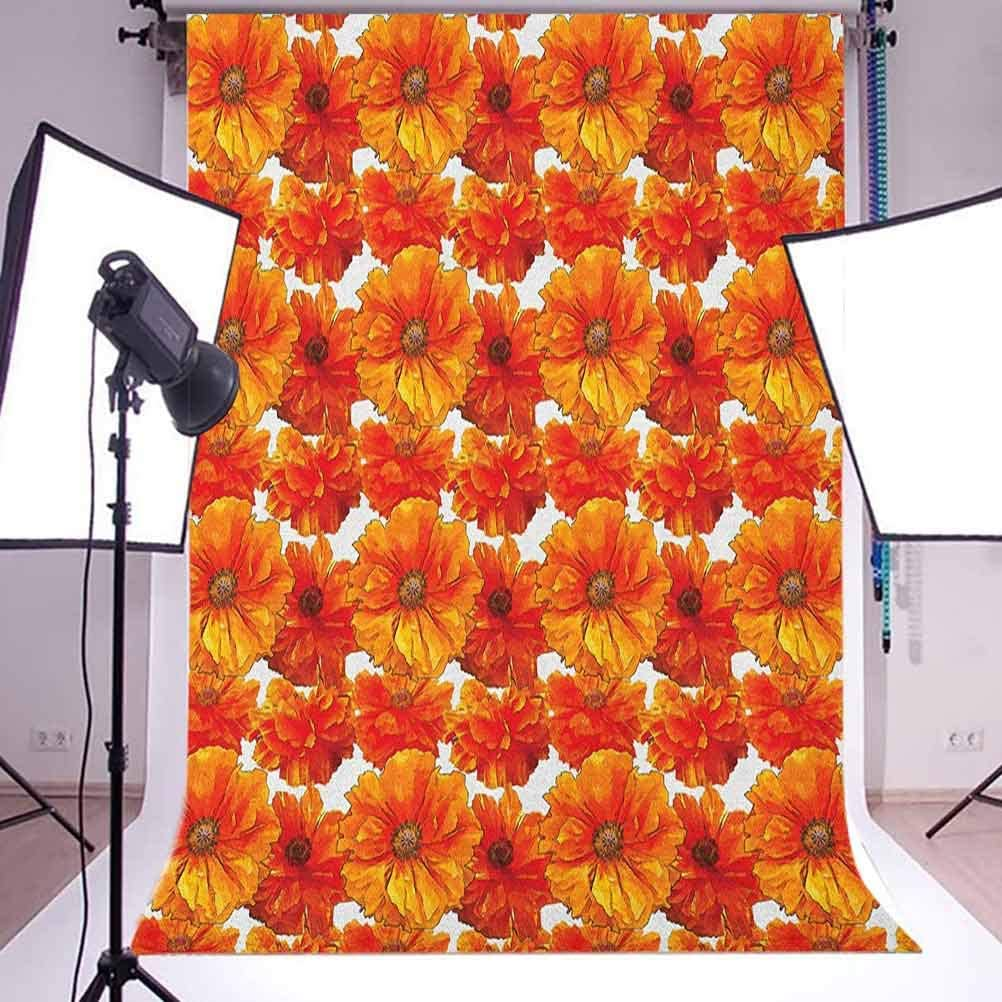 7x10 FT Paisley Vinyl Photography Backdrop,Ornate Detailed Motif Authentic Oriental Print with Vivid Colors Design Background for Baby Birthday Party Wedding Studio Props Photography