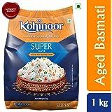 Kohinoor Super Silver Aged Basmati Rice, 1 Kg