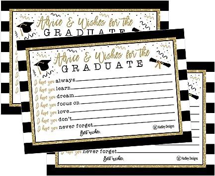 Amazon Com 25 Graduation Advice Words Of Wisdom Cards For