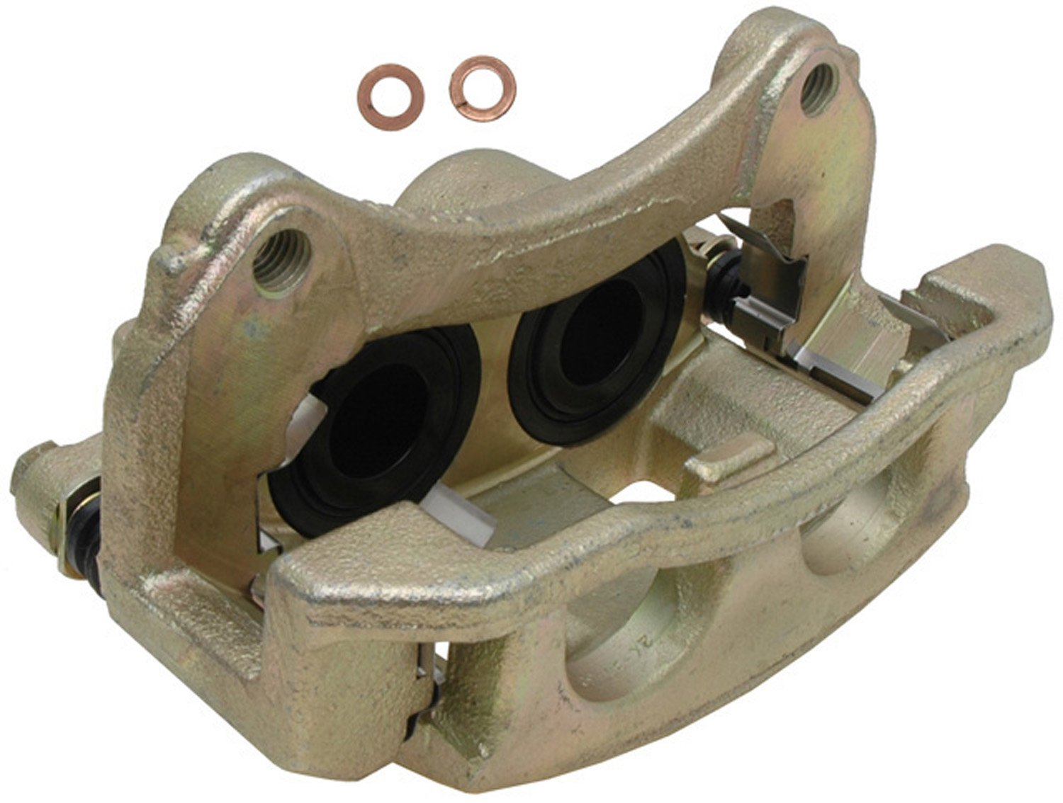 Remanufactured Friction Ready Non-Coated ACDelco 18FR2228 Professional Front Driver Side Disc Brake Caliper Assembly without Pads