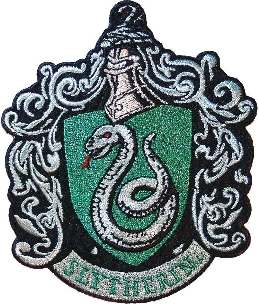 HARRY POTTER Serpentard Iron Patch