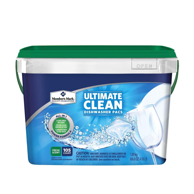 Member's Mark Dishwasher Detergent, 105 Count