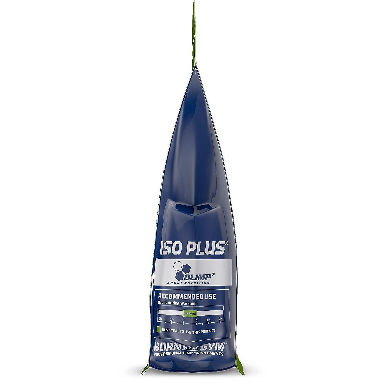 Olimp Sport Nutrition ISO PLUS +L Carnitine - Powder Zip Bag Carbohidratos, Sabor Naranja, 1505 gr: Amazon.es: Salud y cuidado personal