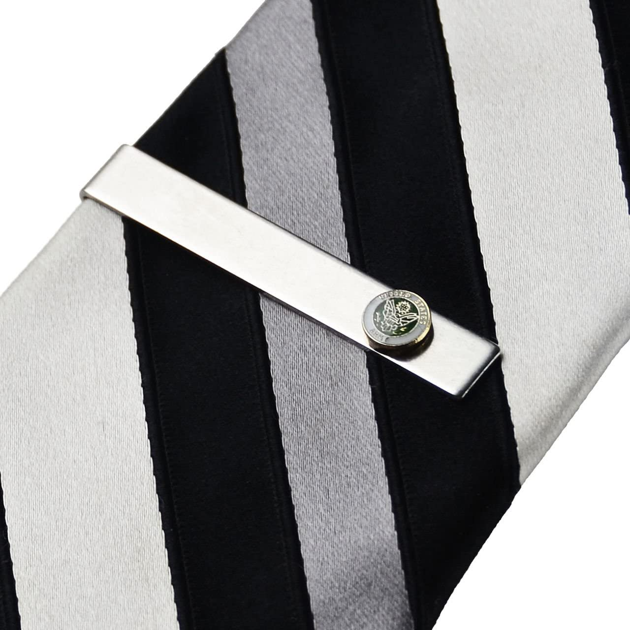 Quality Handcrafts Guaranteed Army Tie Clip