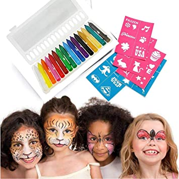 Lápiz de maquillaje (color Varié para disfraz con 16 colores ...