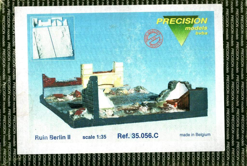 Precision Models 1:35 Ruin Berlin II Multimedia Diorama Kit #35.056.C
