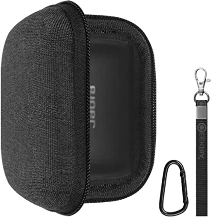 Amazon Com Geekria Hardshell Case For Jabra Elite 75t Earbuds Elite 65t Alexa Enabled Bluetooth Headphone Portable Cover Travel Bag Elite75t Earphone Storage Case With Space For Charging Cord Parts Black Home Audio
