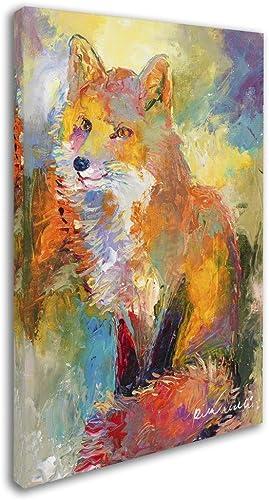 Fox Canvas Wall Art