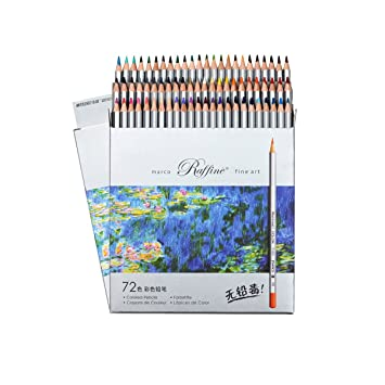 Amazon.com: Lápices de colores Lápices de dibujo profesional ...