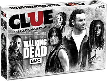 USAopoly Clue The Walking Dead Edition Juego De Mesa: Amazon.es ...