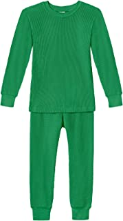 product image for City Threads Boys and Girls Thermal Underwear Base Layer Long John Set - Soft 100% Cotton - Made in USA