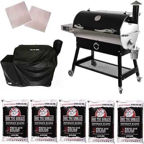 REC TEC Grills RT-700 Portable Wood Pellet Grill
