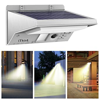 Solar motion sensor light outdoor ithird 21 led 330lm solar solar motion sensor light outdoor ithird 21 led 330lm solar powered security lights for yard aloadofball Images
