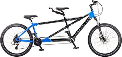 SIMMONSOHN Bicicleta Tandem STAVENGER Talla 19/16: Amazon.es ...