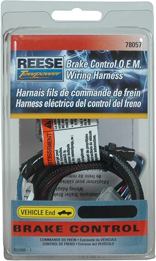 Reese Towpower 78057 Brake Control Wiring Harness for Honda: Automotive -  Amazon.com | Reece Wiring Harness Toyota |  | Amazon.com